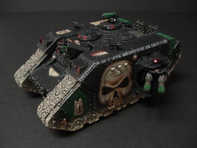 Dark Angels, Land Raider, Space Marines, Warhammer 40,000