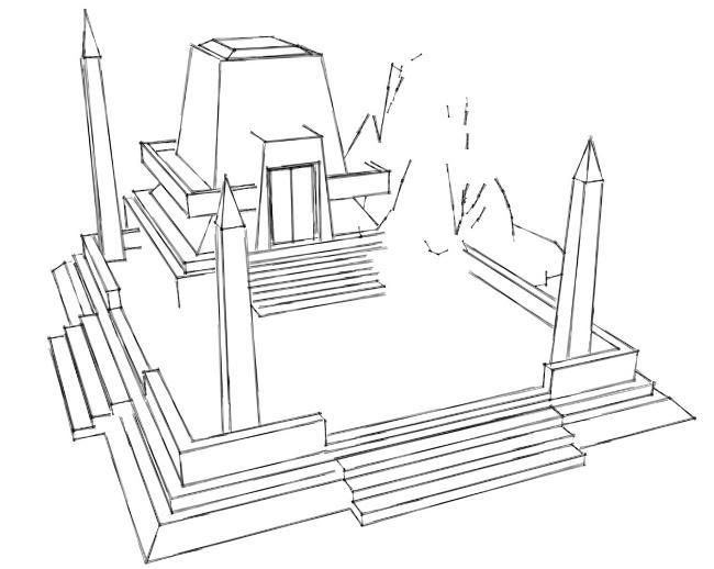 Necron Temple Project