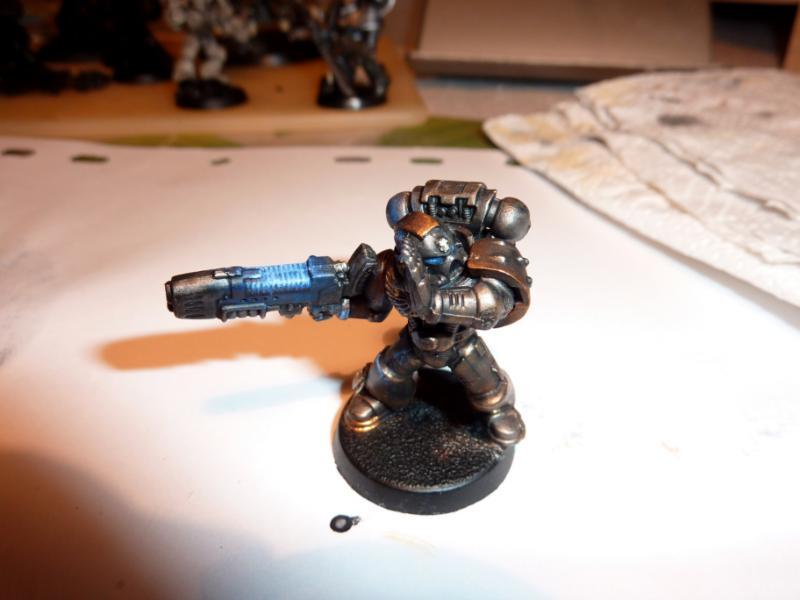 Plasma Gun, Space Marines