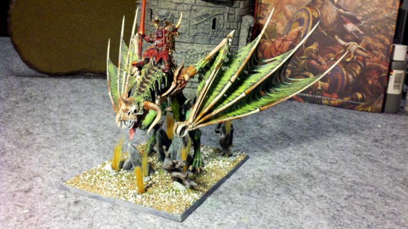 Vampires, Warhammer Fantasy, Zombie Dragon - Count Mortis ...