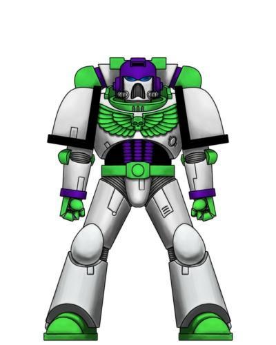Buzz Lightyear Goes Grimdark Militarum Tempestus Test Squad