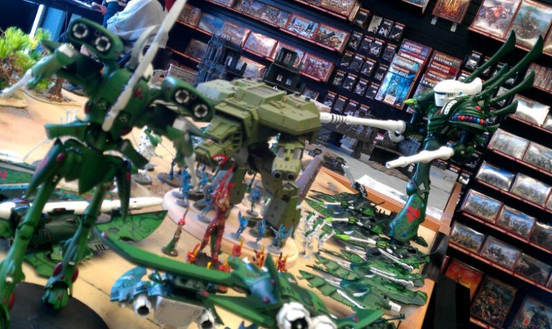Apocalypse, Biel-tan, Cobra, Eldar, Nighthawk, Phantom Titan, Revenant Titan, Scorpion