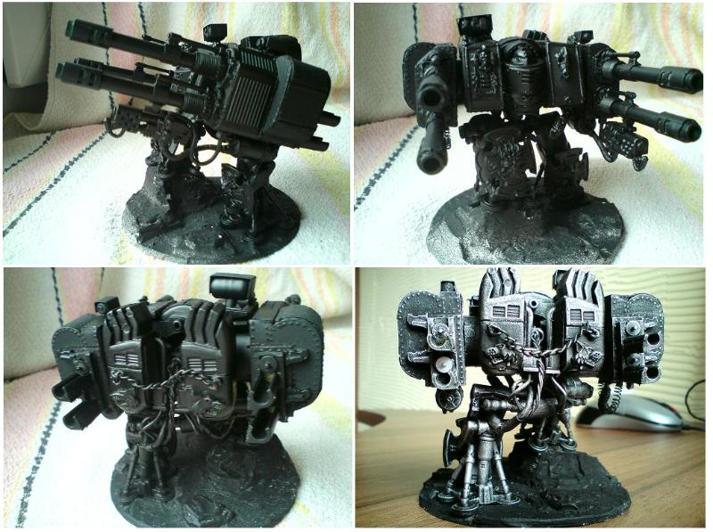 Autocannons, Dreadnought, Space Wolves, Venerable, Work In Progress