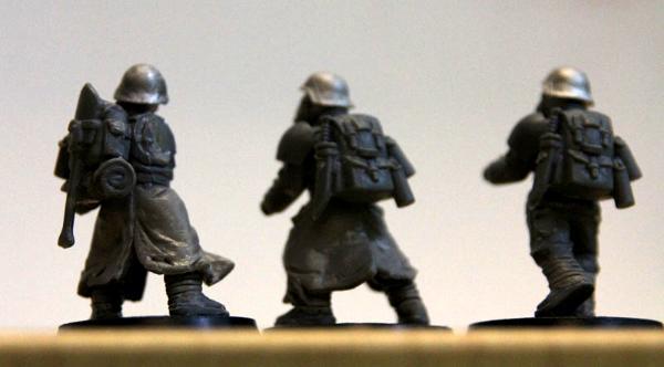 Warhammer 40K Conversion Bits Imperial Guard Cadian Legs x 5
