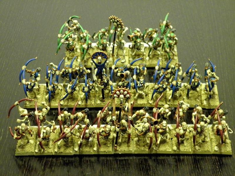 Tomb King Archers Skeletons Tomb Kings