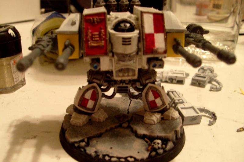 Psyfleman Dreadnought, Front