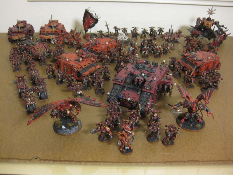 Berserkers  Chaos Space Marines  Khorne  World Eaters