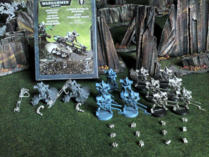 H: 40k-*LARGE* Necron Army, NEW Forge World Hive Tyrant