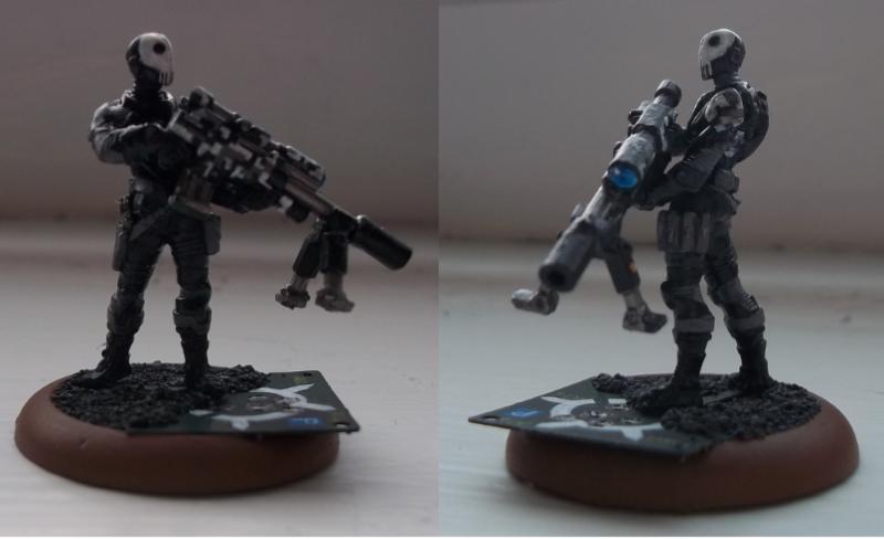 Sniper Skulls Camo Infinity Skull Snipers