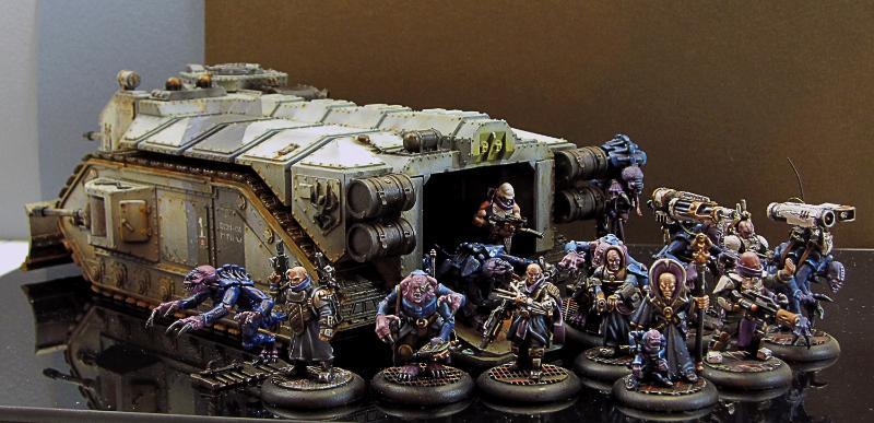 Crassus Assault Transport, Cult, Genestealer, Genestealer Cult, Genestealer Cult Limo, Hybrid, Hybrids, Limo