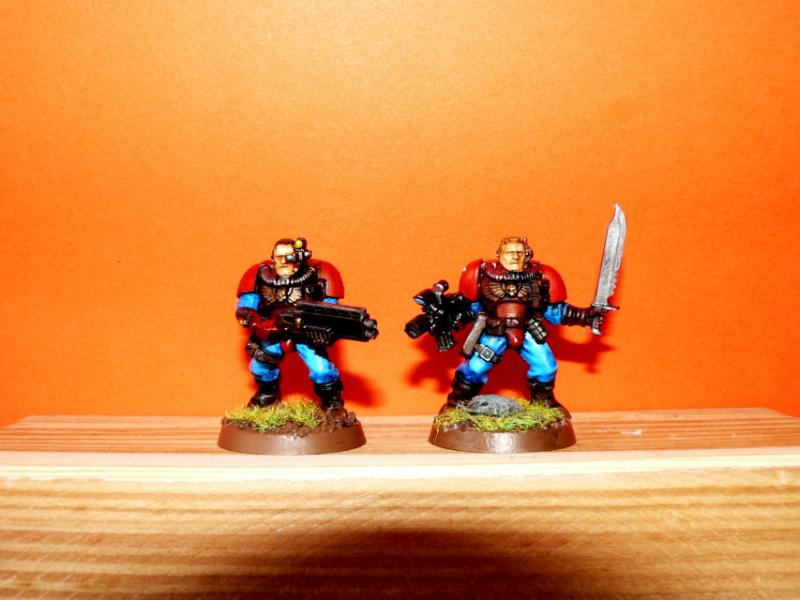 Genesis Chapter, Scouts, Space Marines