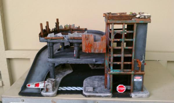 """My latest completed project started as a """"Fisher Price"""" toy garage. It"""