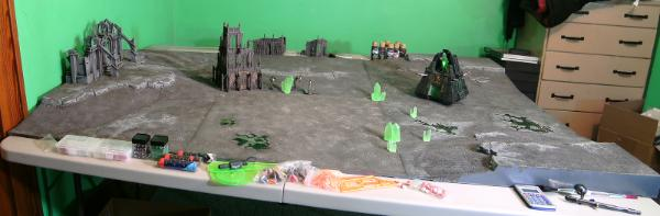Your gaming table scenery and terrain pieces forum for Decor 40k