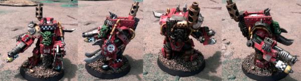 My scratchbuilt Ork Mega-Armored Nobz - Forum - DakkaDakka