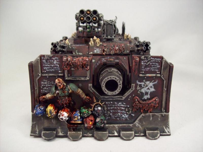 Chaos, Chaos Vindicator, Siege Shield, Vindicator
