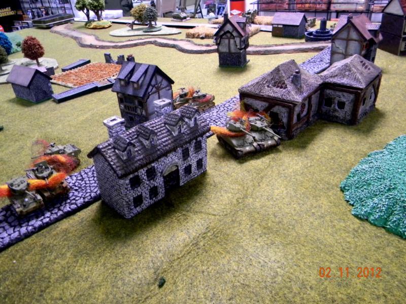 Battle Report, Flames Of War, Sherman Tank, Village