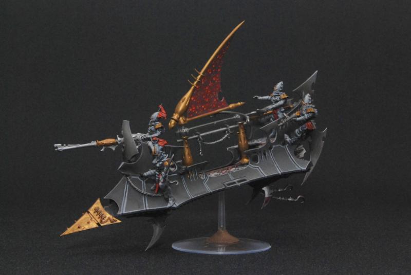 Black Dark Eldar Raider