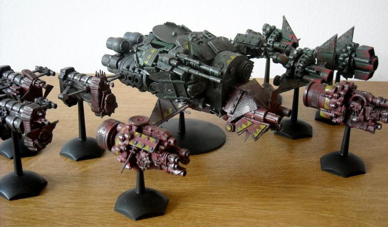 Battlefleet Gothic Ork Fleet