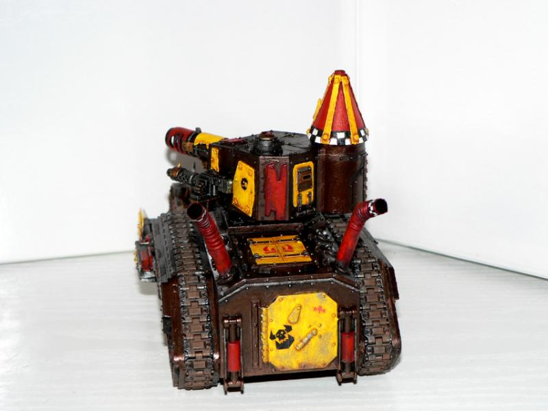 Battlewagon, Bonebreaka, Chimera, Gunwagon, Kitbash