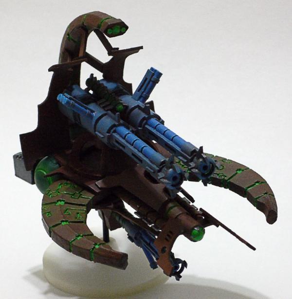 MalikDrako's Necrons (11/26: Scratchbuilding a doom scythe