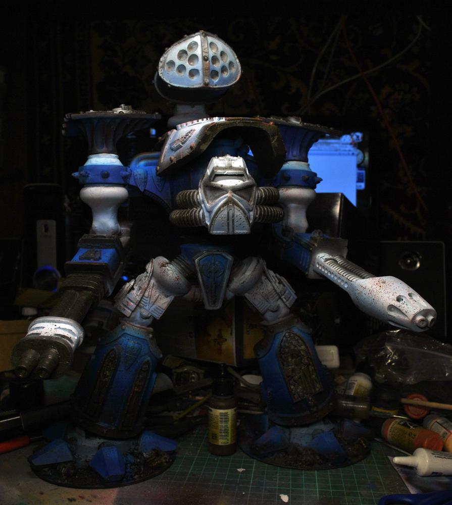 Knight armored head for armorcast reaver titan