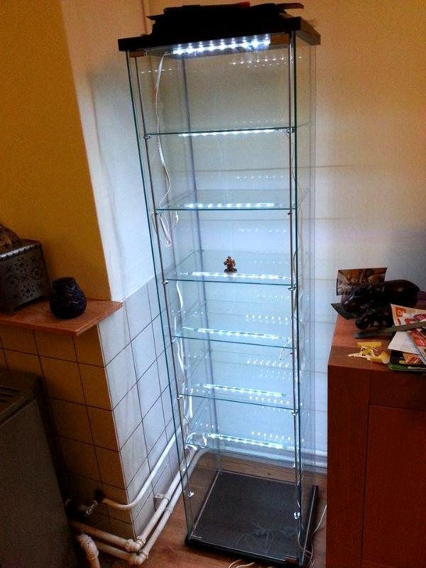 aessedais guide to building a custom glass display case for your figures 20130119 190856 cabinet lighting custom