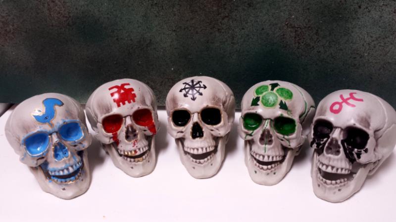 Chaos, Khorne, Nurgle, Skull, Slaanesh, Tzeentch ...
