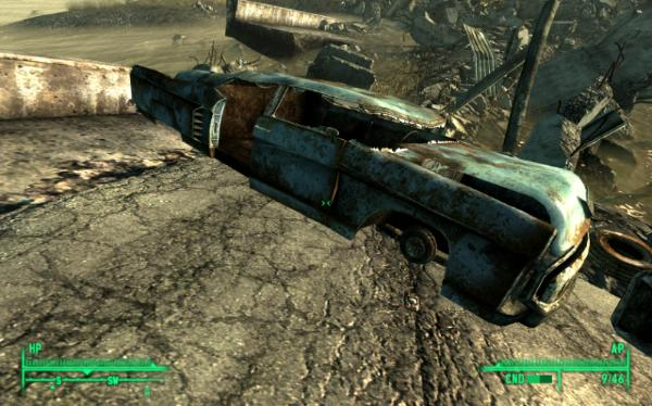 Fallout Car Game From The Game Fallout 3