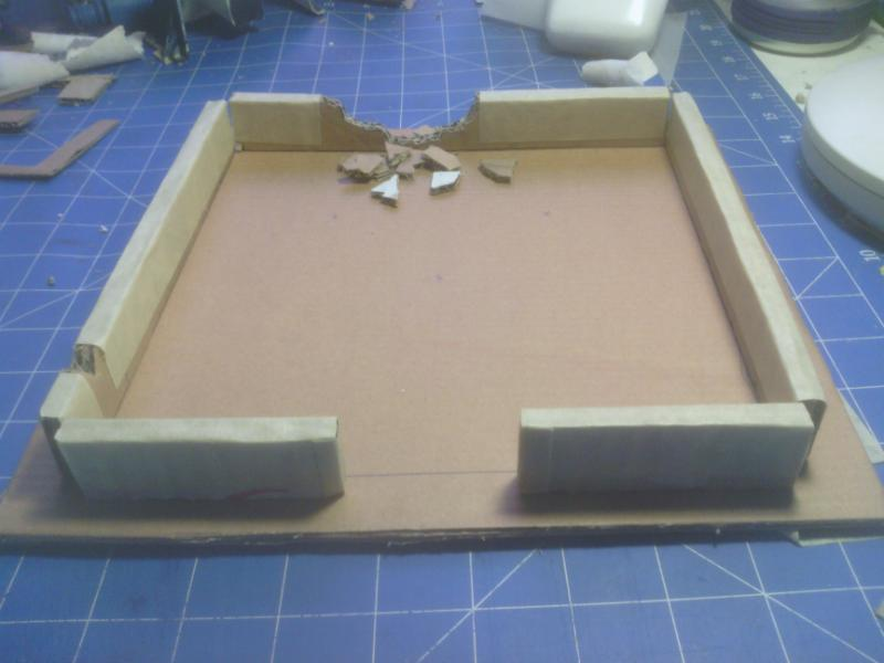 Snrubs terrain blog  ~~ Building a cardboard city ~~ Updated 05/01