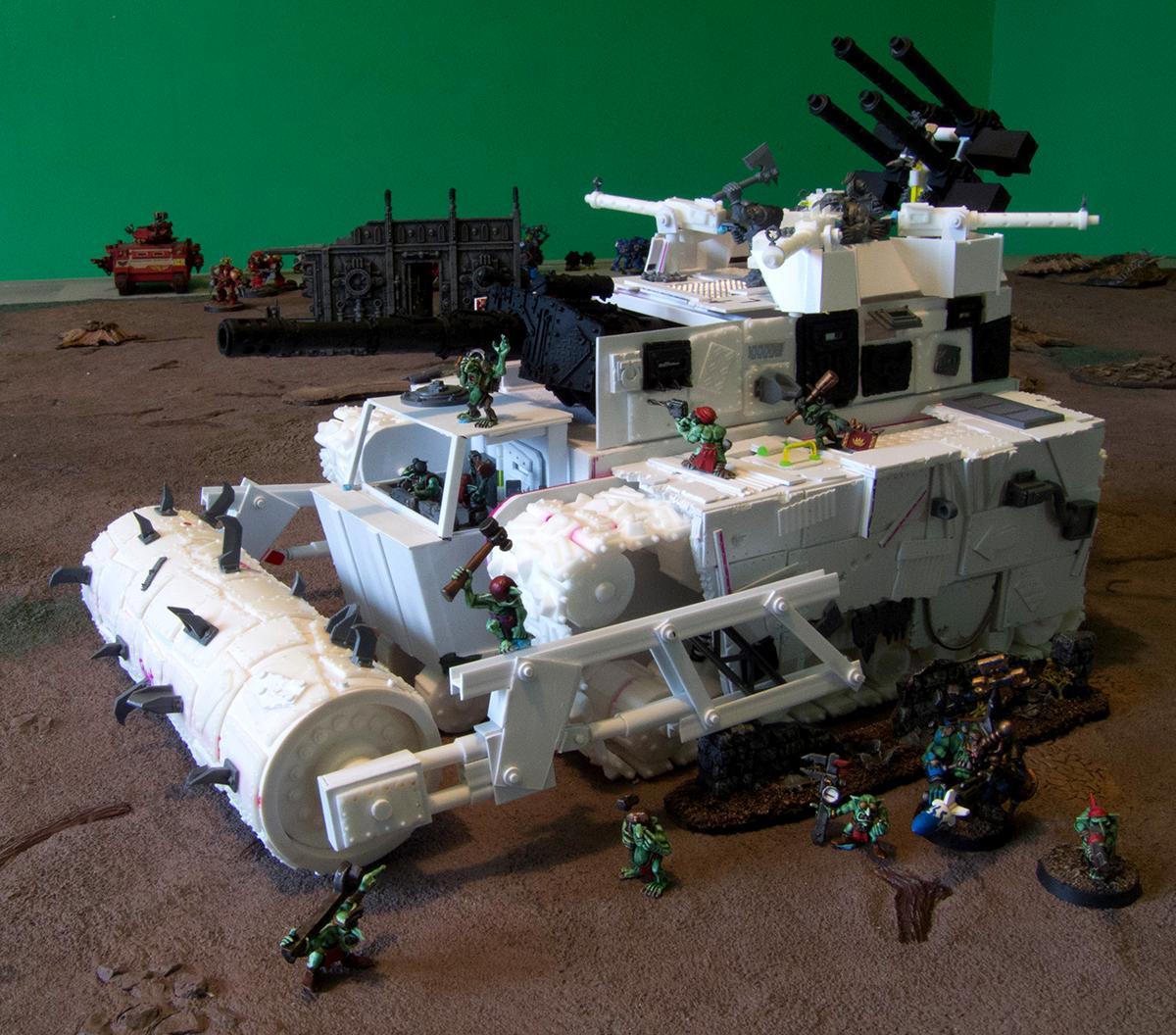 My ork scratchbuilt battle fortress build page 4 forum for Fortress build