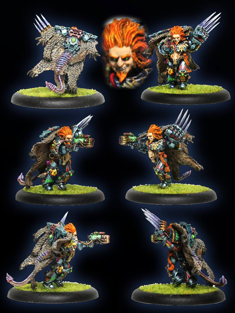 Blood Claw, Lightning Claw, Lukas The Trickster, Plasma Pistol, Space Marines, Space Wolves