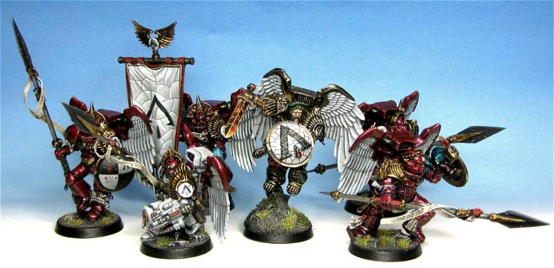 Blood Angels, Conversion, Conversionm Warhammer 40k