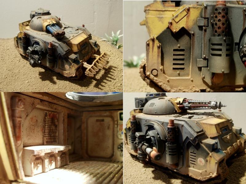 Deimos, Executioner, Painting, Pattern, Predator, Red, Rusty, Rustytankpainting, Scorpions, Space, Space Marines, Tank, Warhammer 40,000, Warhammer Fantasy