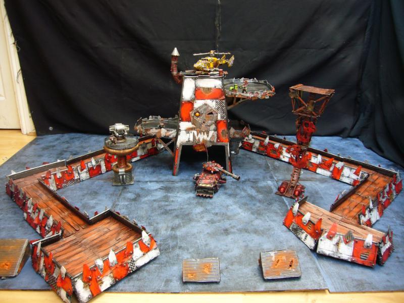 Fortress, Orks, Terrain