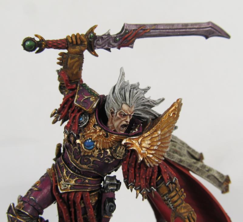 Fulgrim, Space Marines, Warhammer 40,000