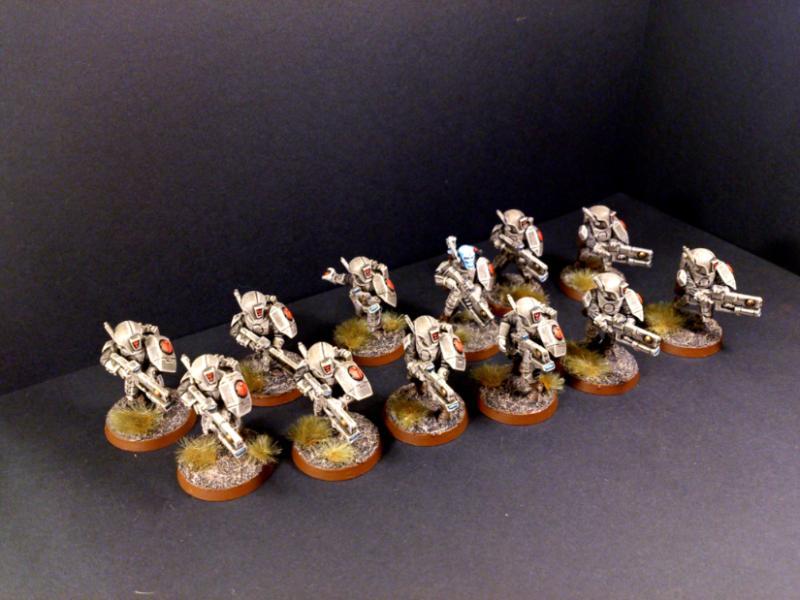 Fire Warriors, Riptide, Tau, Tau Empire