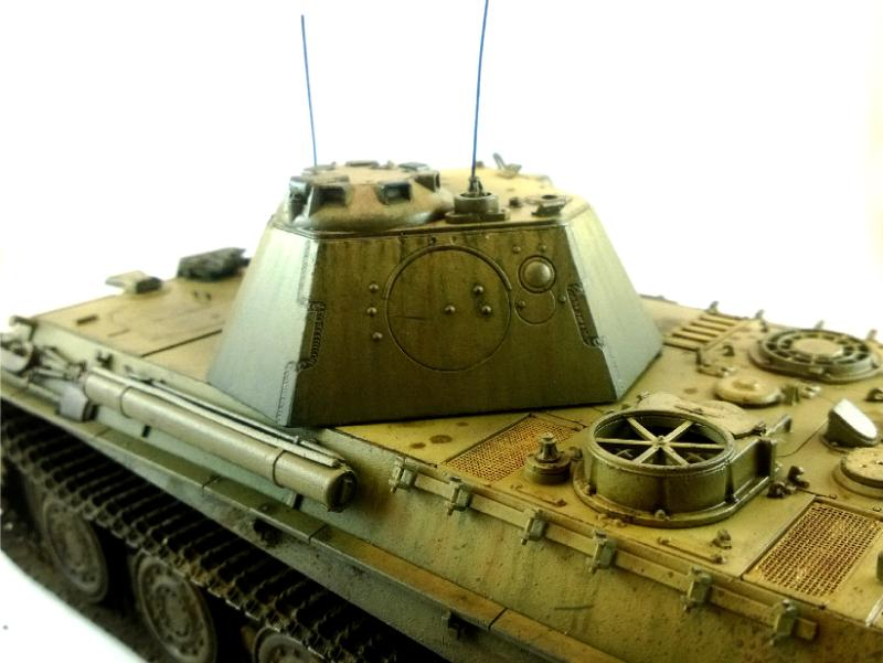 Flames Of War, Military Modelling, Panther F, Tiger, World War 2