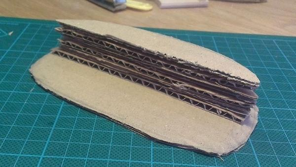 How to make custom terrain? (With only clay and cardboard