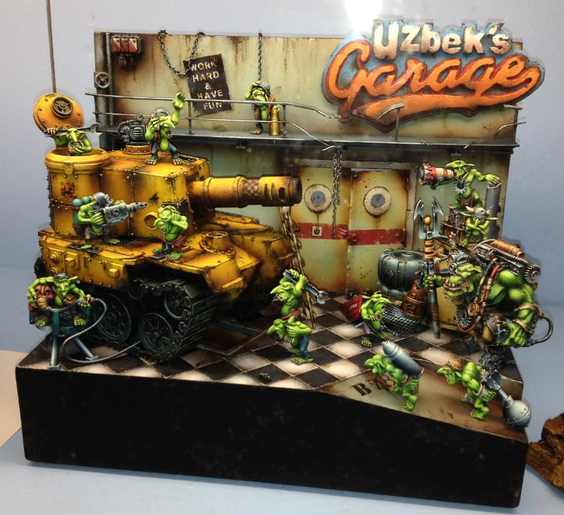 2014, Adepticon, Crystal Brush, Diorama, Grots