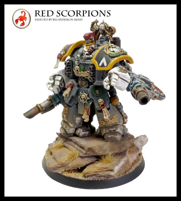 Huge Red Scorpions Space Marine Force. Recent Additions
