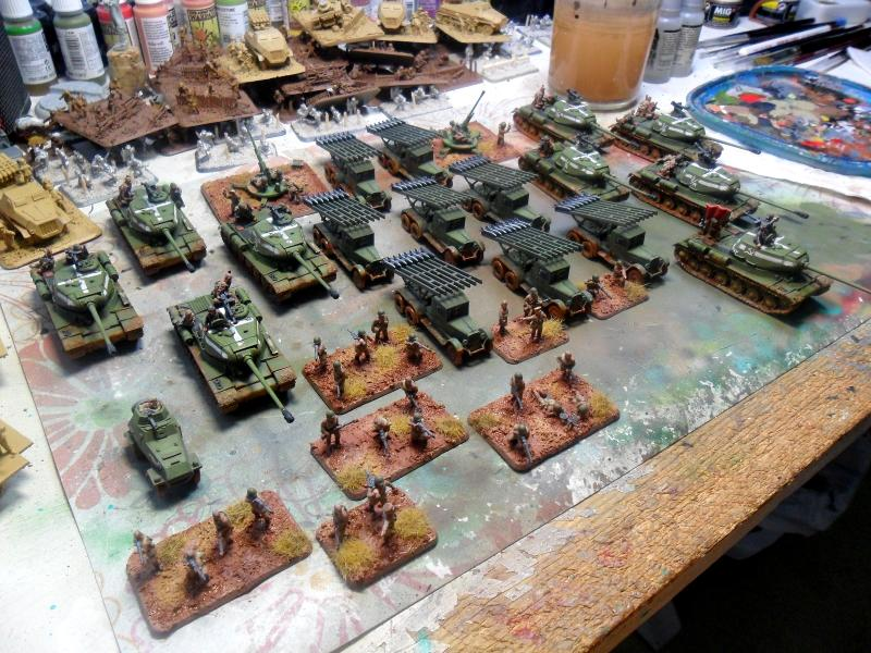 Flames Of War, Russians
