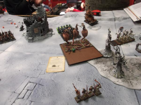 Tomb King Archers Tomb Kings Turn 4