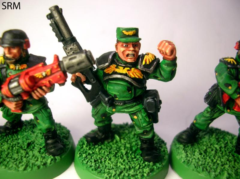 I Used Their Greenskin Color For The Retro Guard If You Just Get Bottled Paint It S A 100 Match Too