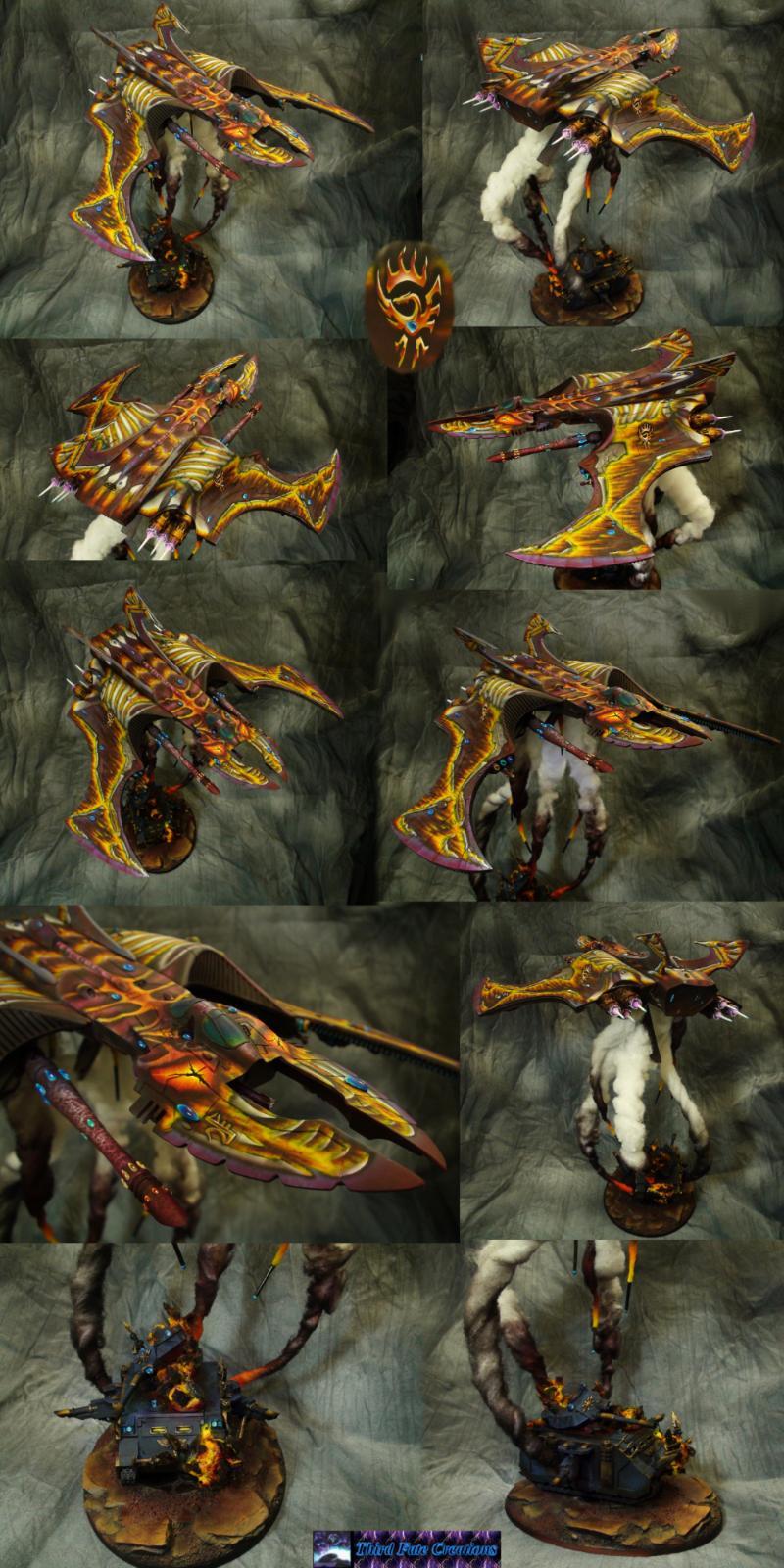 Airbrush, Barrage, Dragon, Eldar, Hunter, Missile, Predator, Thirdfatecreations, Vampire