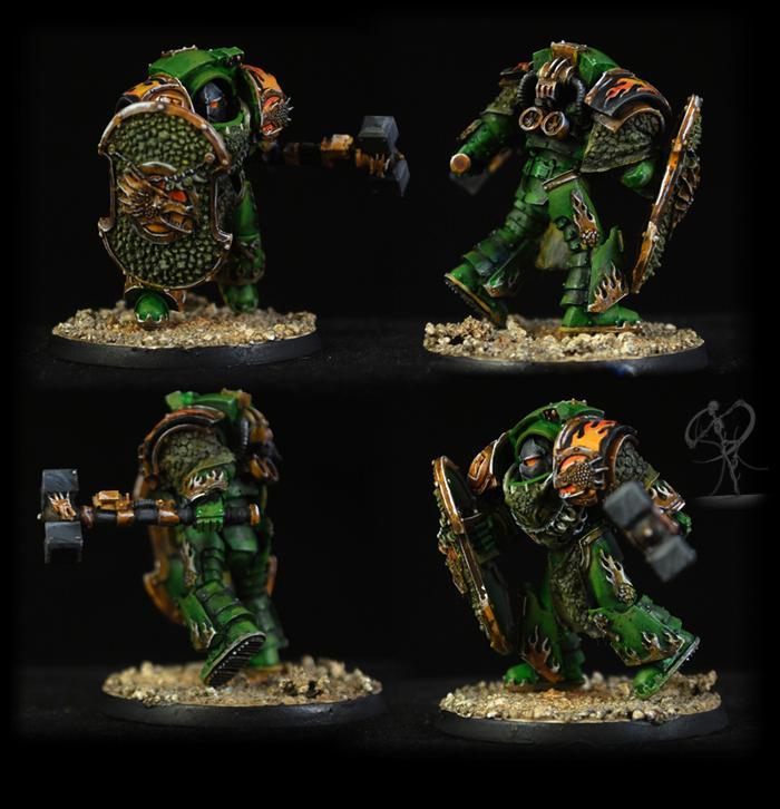 Fire Drake, Firedrake, Forge World, Horus Heresy, Non-Metallic Metal, Salamanders, Warhammer 40,000