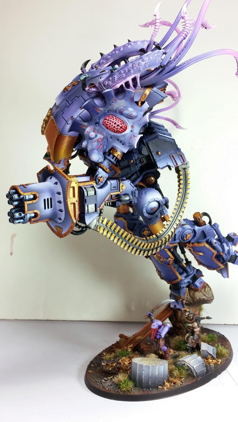 Slanneshi Knight Titan