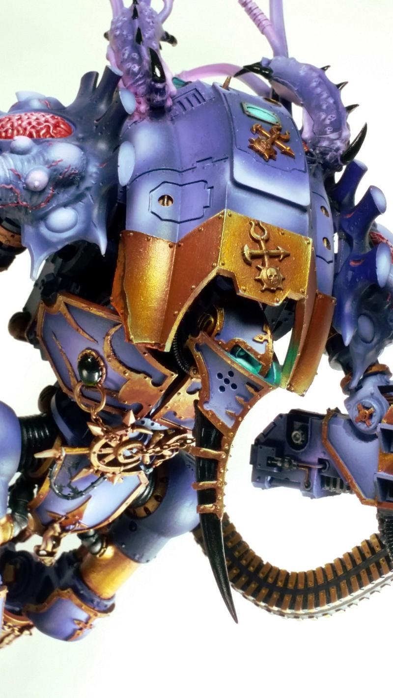 Knights, Slaanesh, Titan, Warhammer 40,000