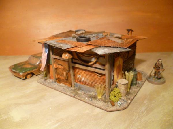 Post apocalyptic shanty town abode tutorial forum for How to build a small shack