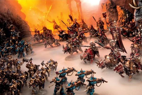 chaos knights age of sigmar