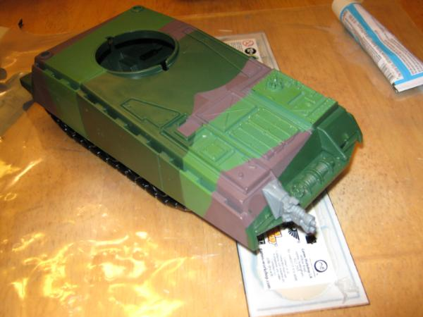 GI Joe Rattler Jet Queue Moteur Admission Housse Vintage partie 1984 Cobra G.I